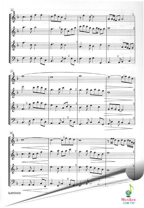 关于直笛的谱子